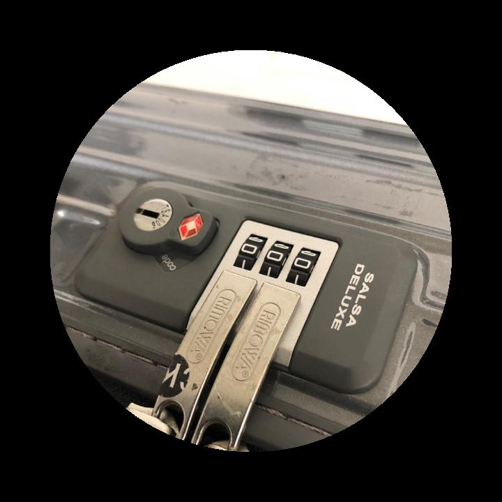 TSAロック修理