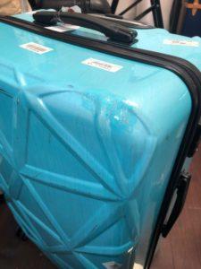 スーツケース完成