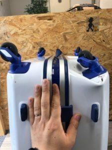 スーツケース 修理 凹みスーツケース修理