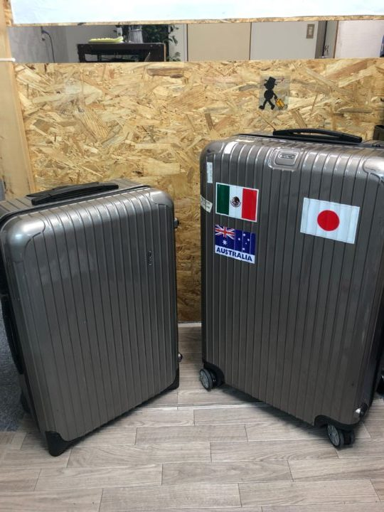 リモワサルサ スーツケース修理