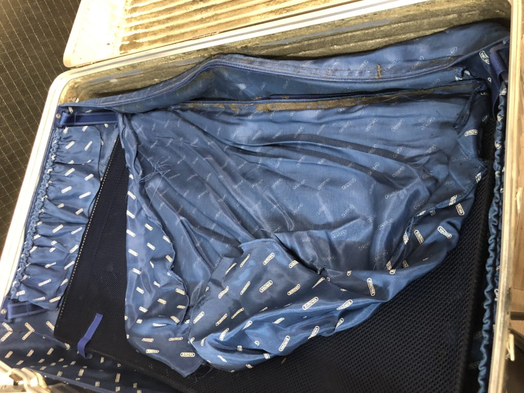 スーツケース 内装修理 RIMWA