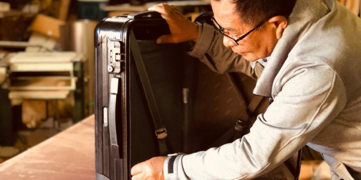 スーツケース修理専門店