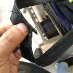 スーツケース修理 ファスナー修理