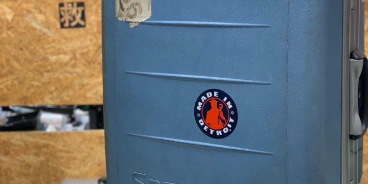 サムソナイトのスーツケース修理