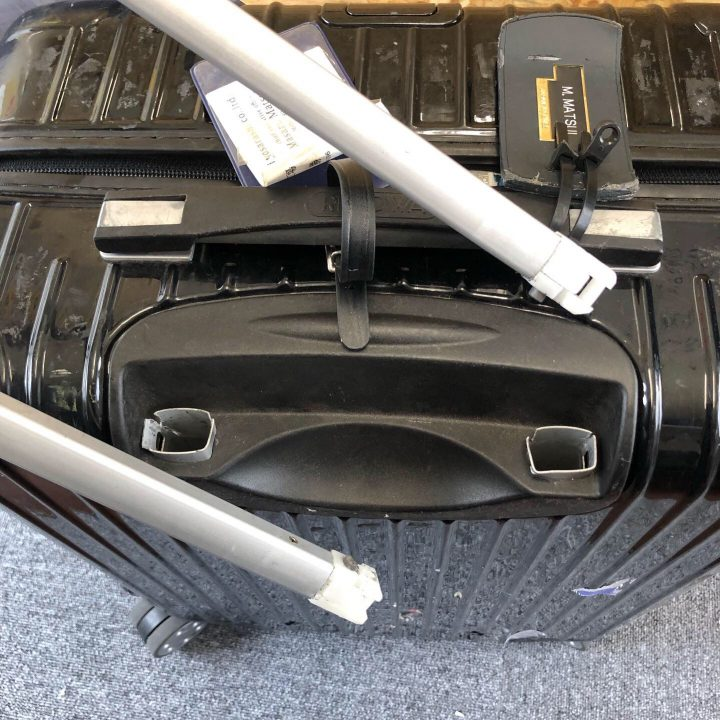 ケースハンドル リモワ スーツケース修理