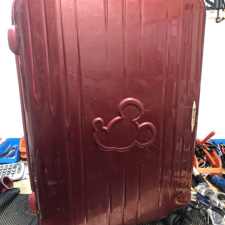 エース社 スーツケース修理