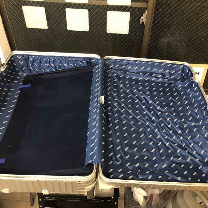 スーツケース 修理 修理後